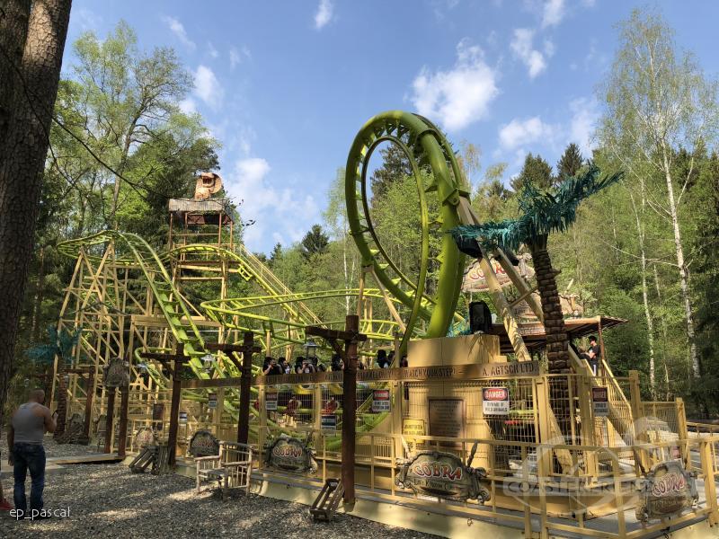 Cobra im Park Freizeit-Land Geiselwind Impressionen