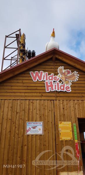 Wilde Hilde im Park Schwaben Park Impressionen