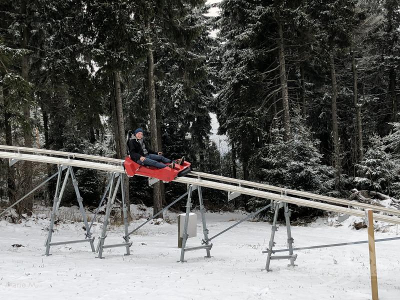 Rhönbob 2.0 (seit 2018) im Park Ski- und Rodelarena Wasserkuppe Impressionen