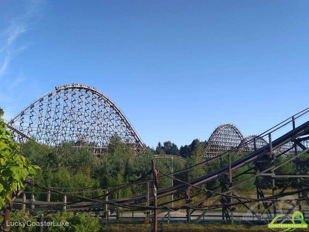 Colossos - Kampf der Giganten (2019 Version) im Park Heide Park Resort Impressionen