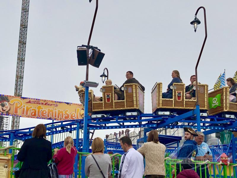 Pirateninsel (Family Coaster) im Park Kinzler Impressionen