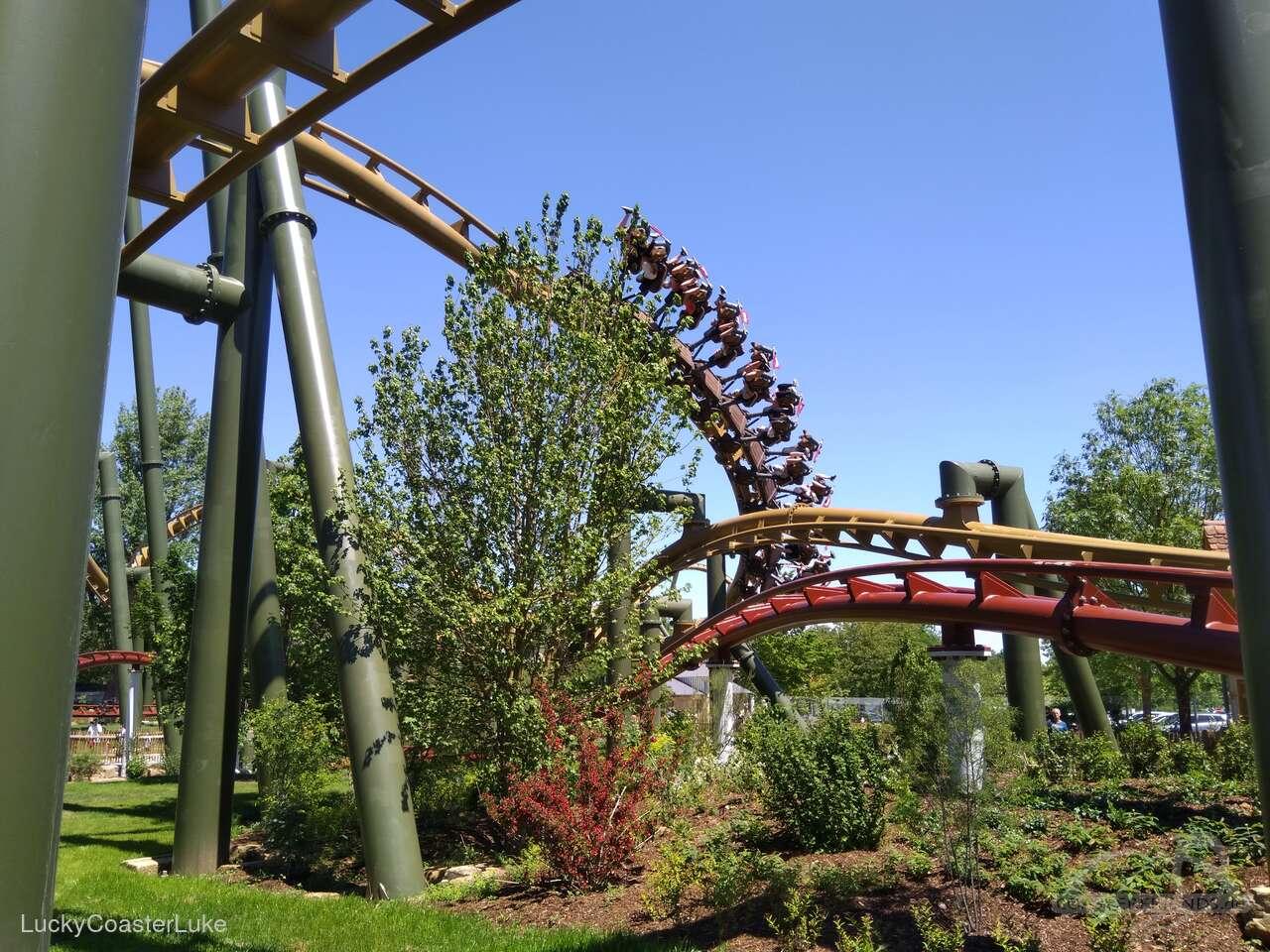 Hals-über-Kopf im Park Erlebnispark Tripsdrill Impressionen