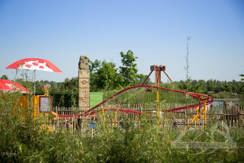 Huracanito im Park Belantis Impressionen