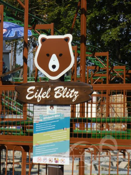 Eifel Blitz im Park Eifelpark Impressionen
