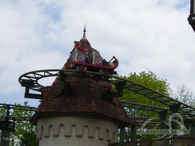 G'sengte Sau im Park Erlebnispark Tripsdrill Impressionen