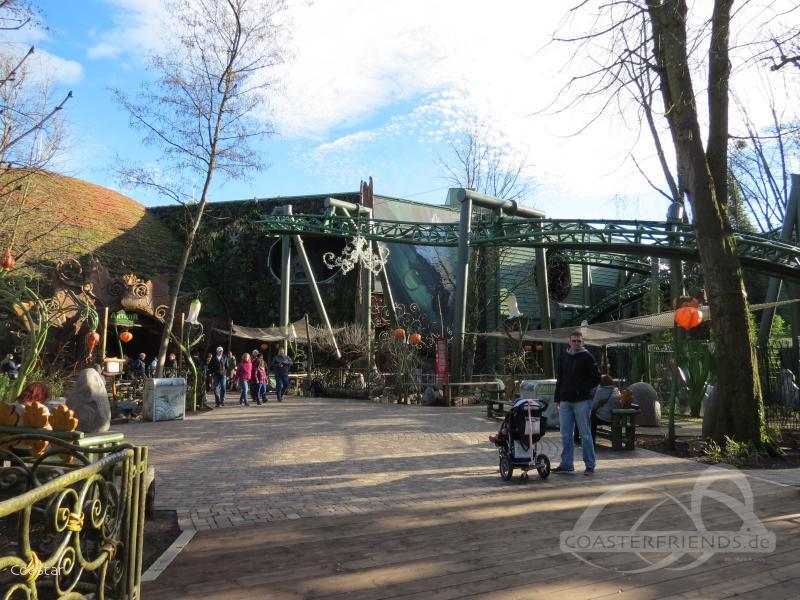 Arthur im Park Europa Park Impressionen