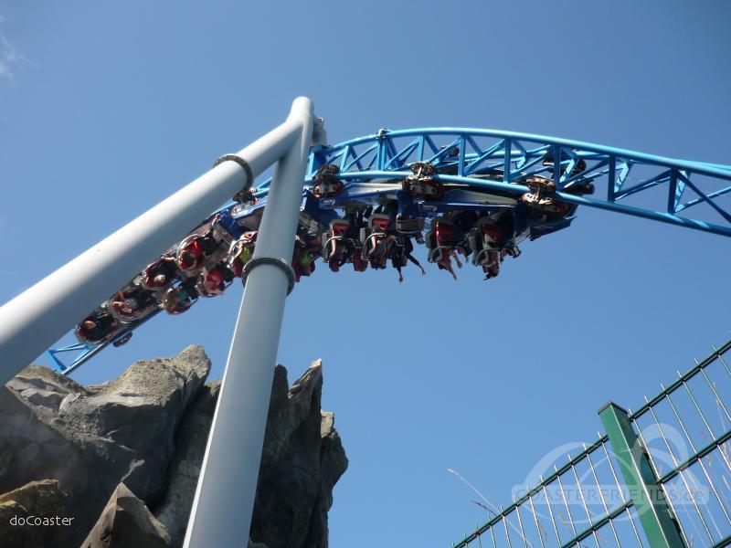 blue fire Megacoaster im Park Europa Park Impressionen