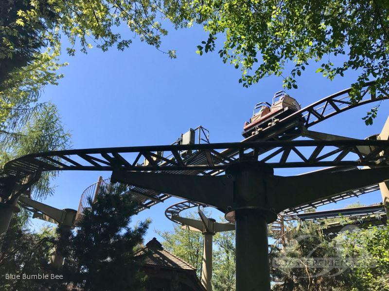 Matterhorn Blitz im Park Europa Park Impressionen