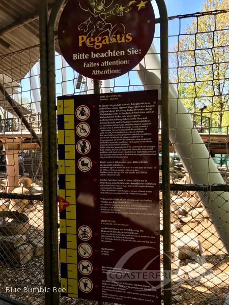 Pegasus im Park Europa Park Impressionen