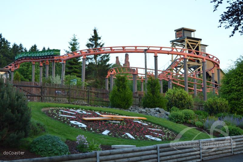 Devil's Mine im Park Fort Fun Abenteuerland Impressionen