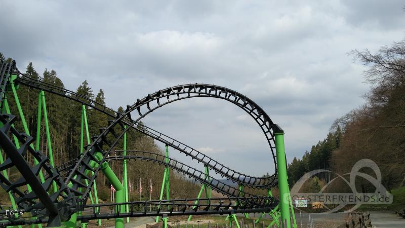 SpeedSnake FREE (Speed Snake) im Park Fort Fun Abenteuerland Impressionen