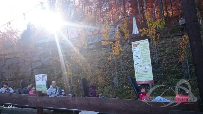 Trapper SLIDER im Park Fort Fun Abenteuerland Impressionen