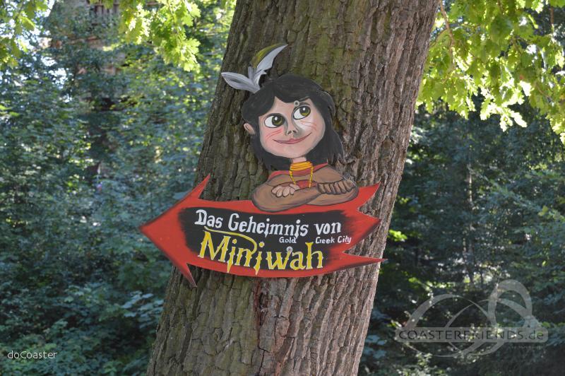 Miniwah im Park Freizeitpark Plohn Impressionen