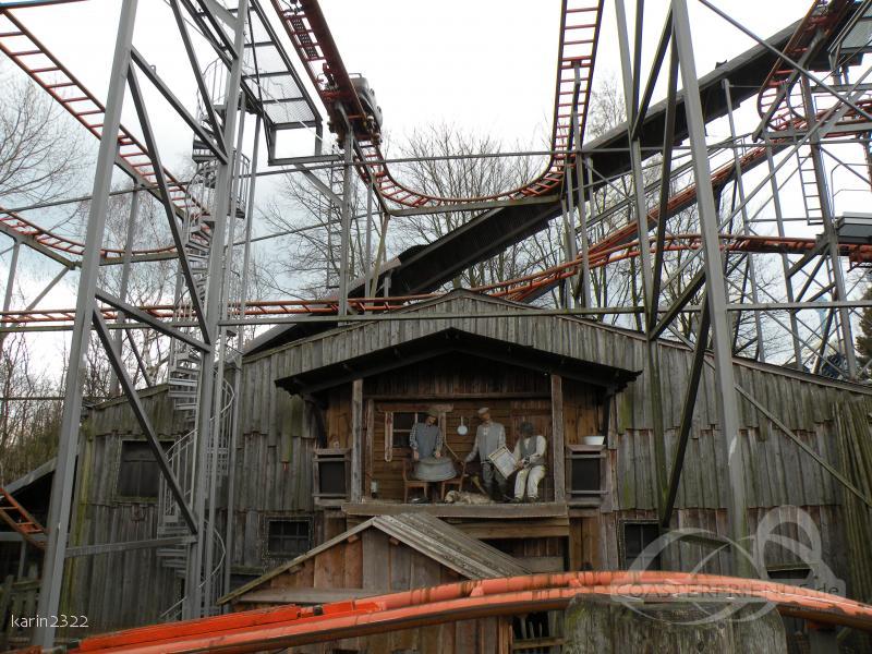 Crazy Mine im Park Hansa Park Impressionen