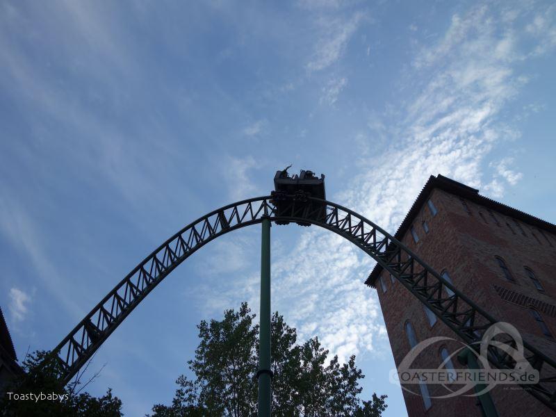 Fluch von Novgorod im Park Hansa Park Impressionen