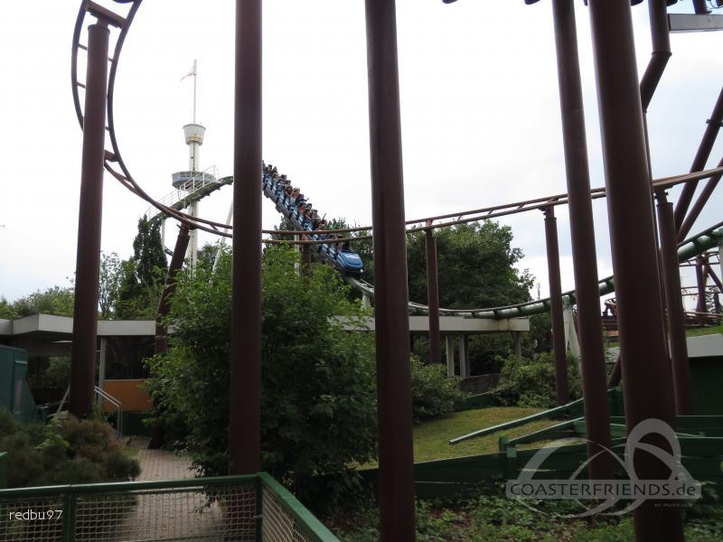 Nessie Superrollercoaster im Park Hansa Park Impressionen
