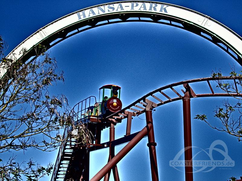 Royal Scotsman im Park Hansa Park Impressionen