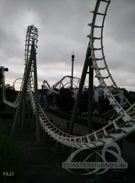 Big Loop im Park Heide Park Resort Impressionen