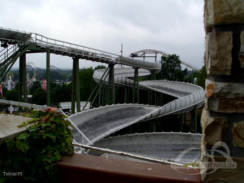 Bobbahn im Park Heide Park Resort Impressionen
