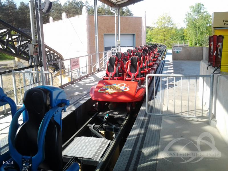 Desert Race im Park Heide Park Resort Impressionen