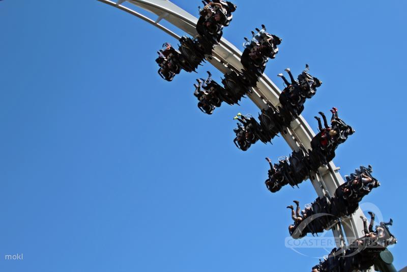 Flug der Dämonen im Park Heide Park Resort Impressionen