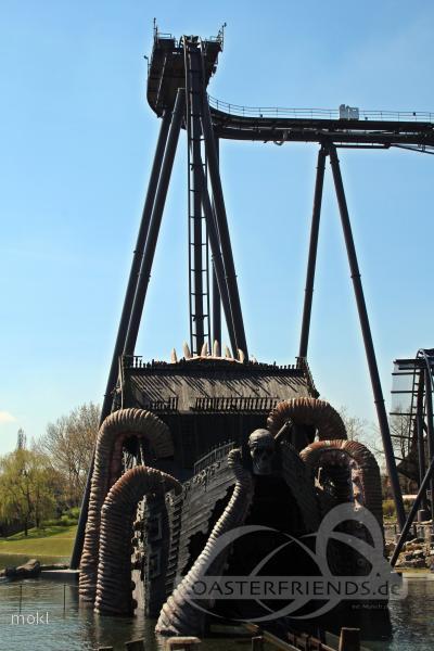 Krake im Park Heide Park Resort Impressionen