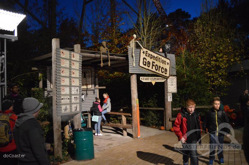 Expedition GeForce im Park Holiday Park Impressionen