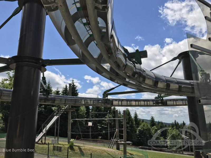 Wie-Flyer im Park Inselsberg Funpark Impressionen