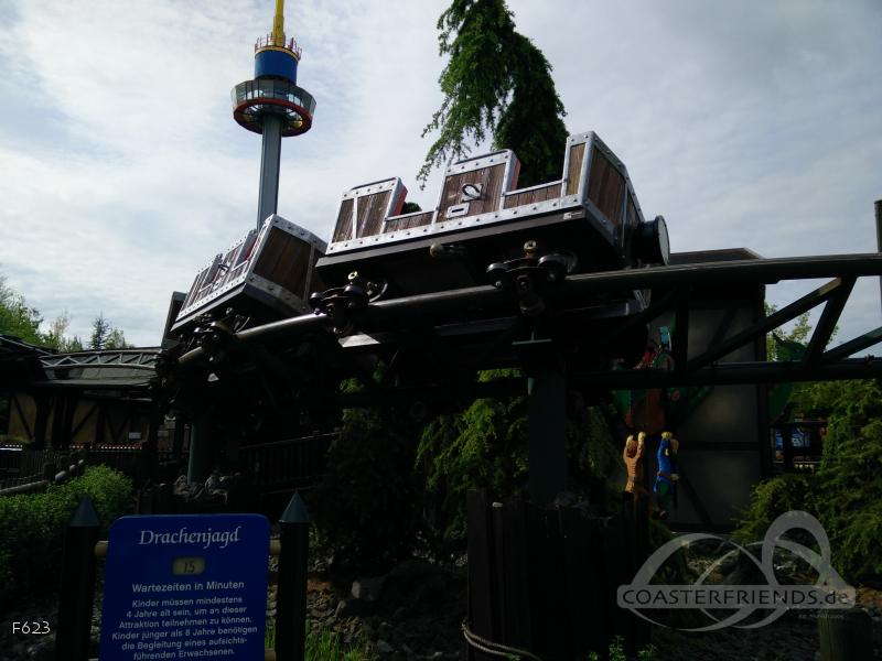 Drachenjagd im Park Legoland Deutschland Impressionen