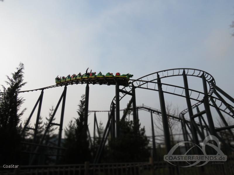 Feuerdrache im Park Legoland Deutschland Impressionen