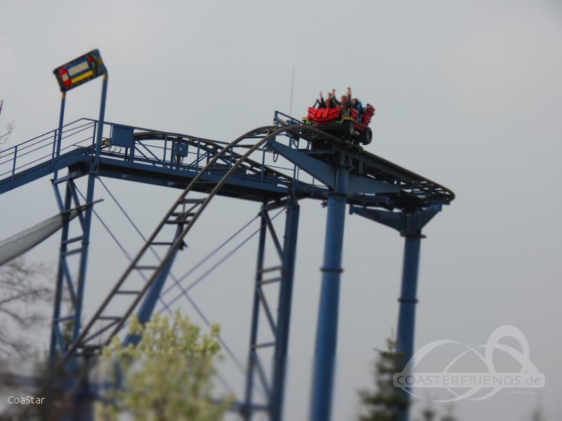 Das grosse LEGO Rennen im Park Legoland Deutschland Impressionen