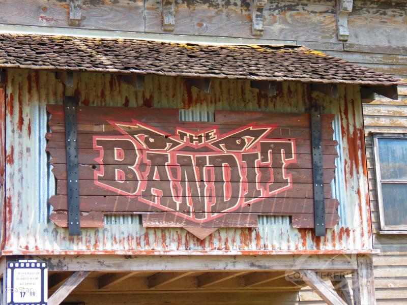 Bandit im Park Movie Park Germany Impressionen