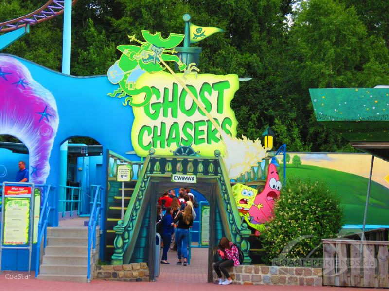 Ghost Chasers im Park Movie Park Germany Impressionen