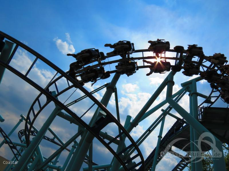 Jimmy Neutron's Atomic Flyer im Park Movie Park Germany Impressionen