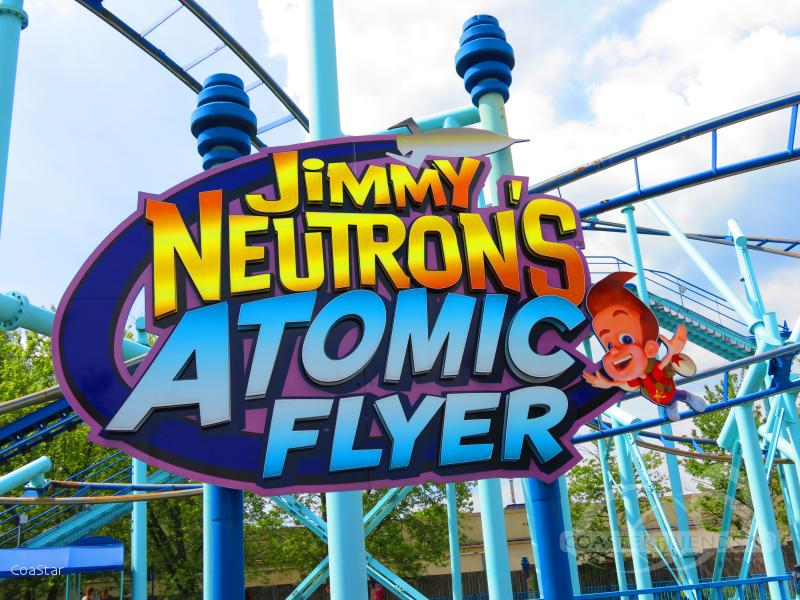 Jimmy Neutron's Atomic Flyer im Park Movie Park Germany Impressionen