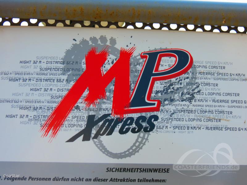 MP-Xpress im Park Movie Park Germany Impressionen