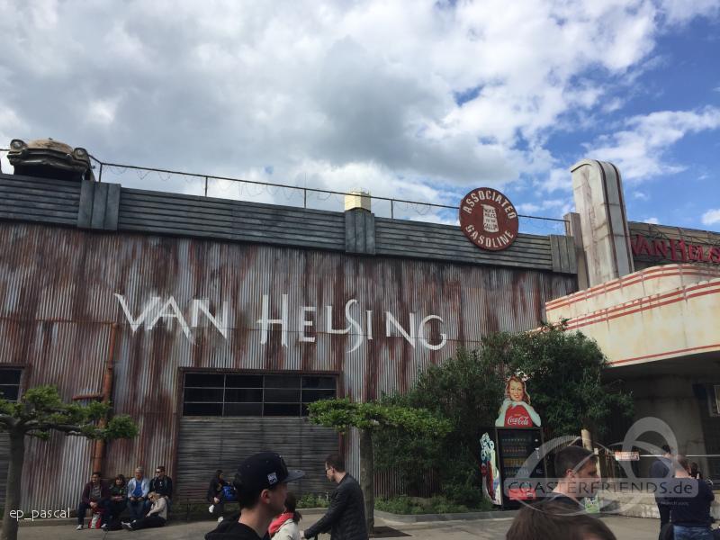 Van Helsing's Factory im Park Movie Park Germany Impressionen