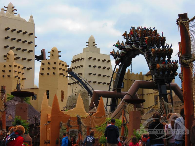 Black Mamba im Park Phantasialand Impressionen