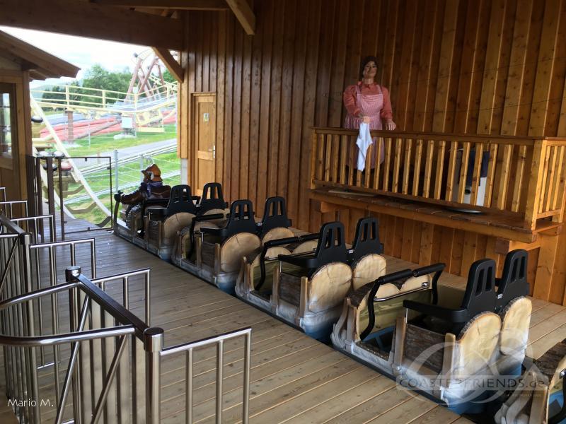 Voglwuide Sepp im Park Rodel- und Freizeitparadies St. Englmar Impressionen