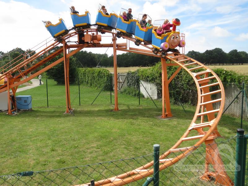 Familienachterbahn im Park Rügen Park Impressionen