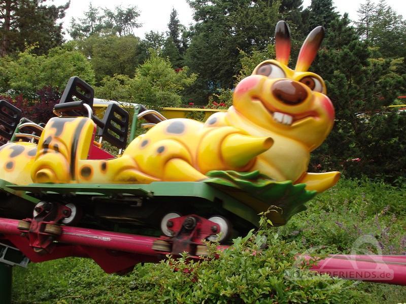 Caterpillar Express im Park Schwaben Park Impressionen