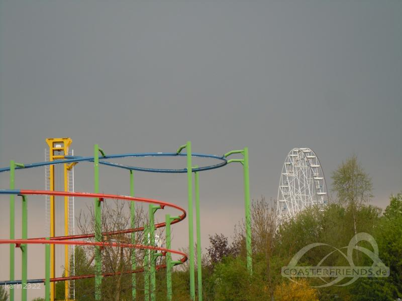 Sky Rider im Park Skyline Park Impressionen