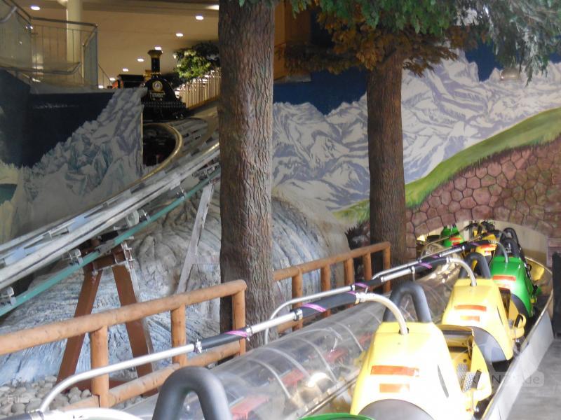 Gletscherblitz im Park Steinwasen Park Impressionen