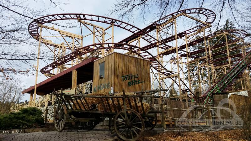 Taunusblitz im Park Taunus Wunderland Impressionen