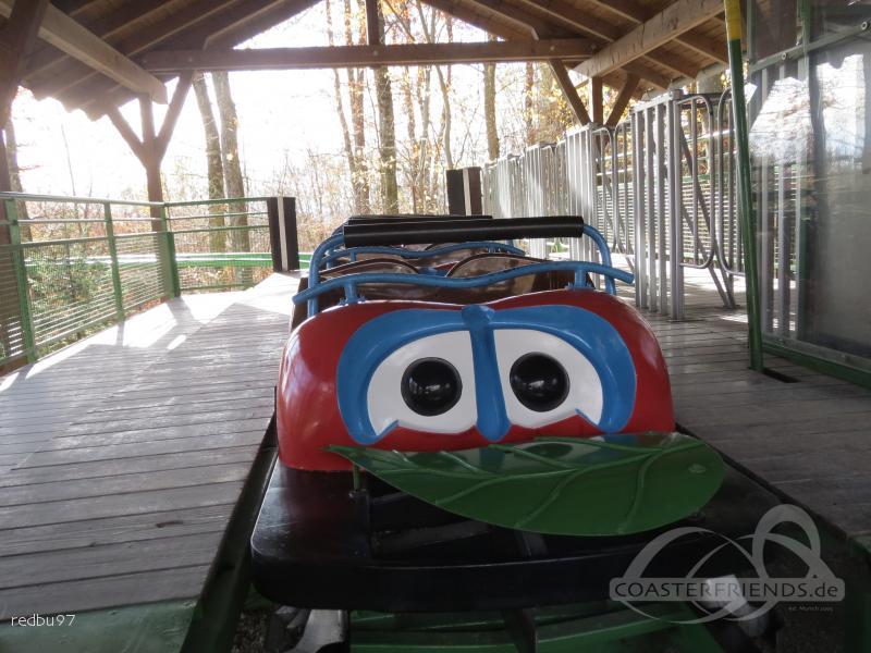Marienkäferbahn im Park Traumland auf der Bärenhöhle Impressionen