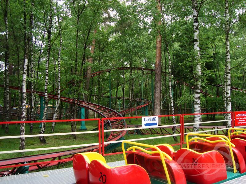 Marienkäferbahn im Park Zoo Safaripark Stukenbrock Impressionen