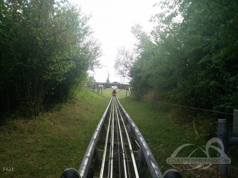 Schöne Aussicht im Park Allwetterrodelbahn Weißenfels Impressionen