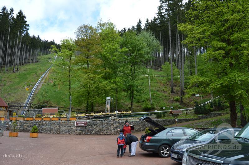 Erlebnis-Rodelbahn im Park Erlebnis-Arena Ruhla Impressionen