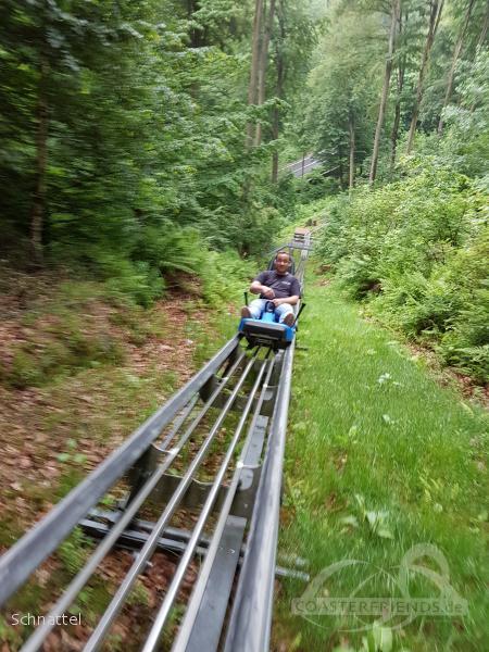Harzbob im Park Erlebniswelt Seilbahnen Thale Impressionen
