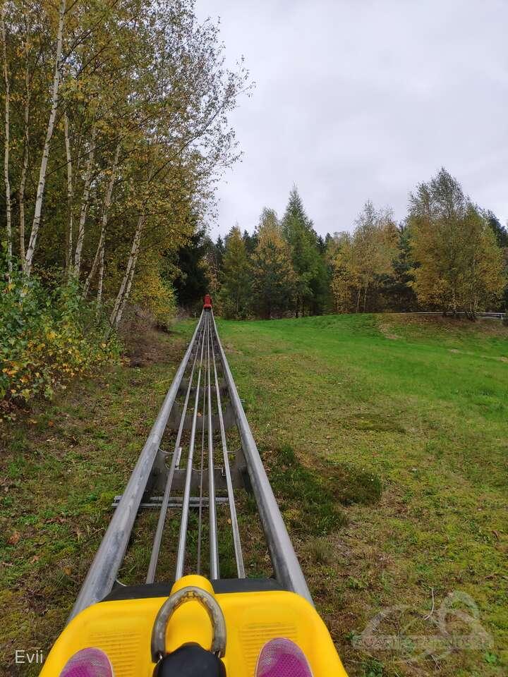 Fröschbrunna-Coaster im Park Fröschbrunna Impressionen